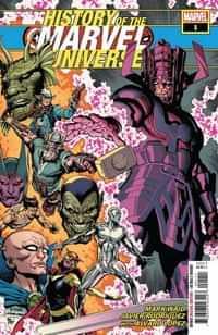 History of Marvel Universe #1