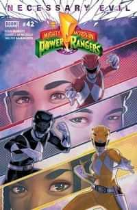Mighty Morphin Power Rangers #42 CVR A
