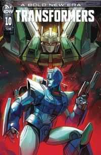 Transformers #10 CVR A Deer