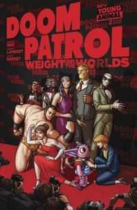 Doom Patrol Weight of the Worlds #2 CVR A