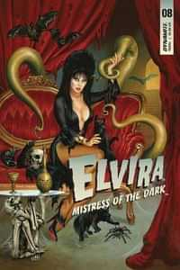 Elvira Mistress Of Dark #8 CVR A Jusko