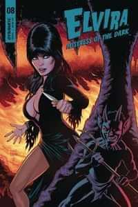 Elvira Mistress Of Dark #8 CVR B Cermak