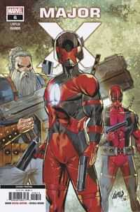Major X #6 Second Printing Liefeld