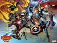 Marvel Comics #1000 Variant Quesada Wraparound