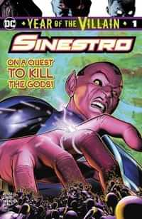Year Of The Villain One-Shot Sinestro