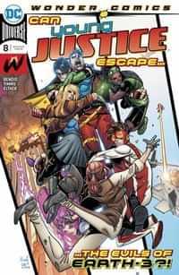 Young Justice #8 CVR A