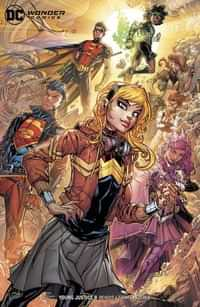 Young Justice #8 CVR B
