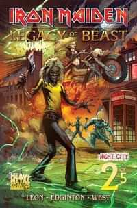 Iron Maiden Legacy of the Beast #2 Night City