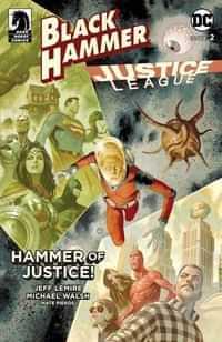 Black Hammer Justice League #2 CVR E Scalera