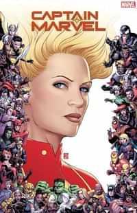 Captain Marvel #9 Variant Christopher Marvel 80th Frame