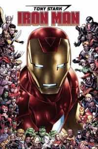 Tony Stark Iron Man #15 Variant Cheung Marvel 80th Frame