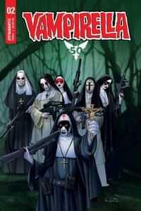 Vampirella #2 CVR D Gunduz