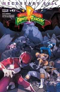 Mighty Morphin Power Rangers #43 CVR A Campbell