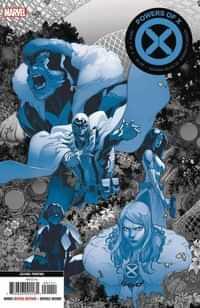 Powers of X #2 Second Printing Silva