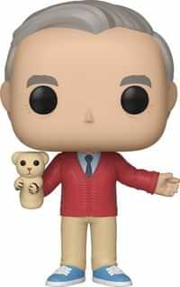 Funko Pop Mr Rogers with Daniel Tiger