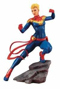 Marvel Artfx Statue Avengers Series Captain Marvel