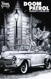 Doom Patrol Weight Of The Worlds #3 CVR B