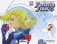 Fantastic Four #14 Variant Ward Invisible Woman Wraparound