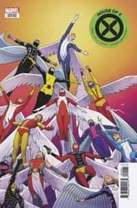 House of X #4 Variant Cabal Character Decades