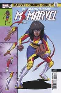 Magnificent Ms Marvel #5 Second Printing Jung