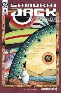 Samurai Jack Lost Worlds #4 CVR A Thomas