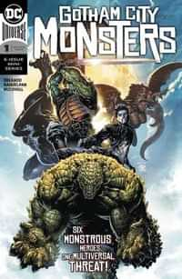 Gotham City Monsters #1 CVR A