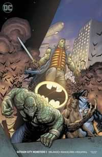 Gotham City Monsters #1 CVR B