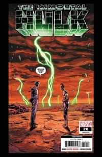 Immortal Hulk #20 Third Printing Bennett