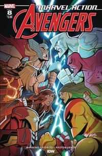 Marvel Action Avengers #8