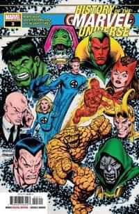 History of Marvel Universe #3