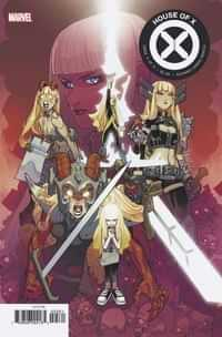 House of X #5 Variant Lafuente Character Decades