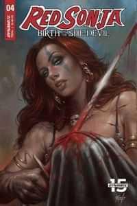 Red Sonja Birth of She Devil #4 CVR A Parrillo