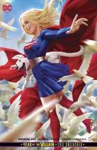 Supergirl #34 CVR B Card Stock