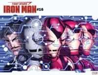 Tony Stark Iron Man #16 Variant Bradshaw Immortal Wraparound