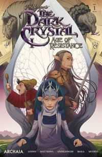 Jim Henson Dark Crystal Age Resistance #1 CVR A