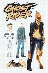 Ghost Rider #1 Variant 10 Copy Kuder Design