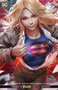 Supergirl #36 CVR B Card Stock