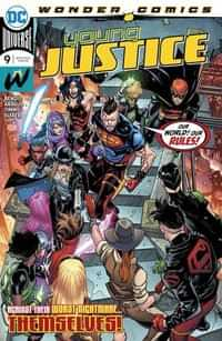 Young Justice #9 CVR A