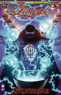 Zorro Sacrilege #4 CVR A Wolfer