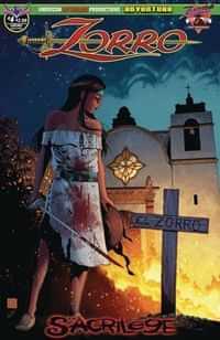 Zorro Sacrilege #4 CVR B Hilinski Possession
