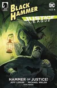 Black Hammer Justice League #4 CVR E Crook