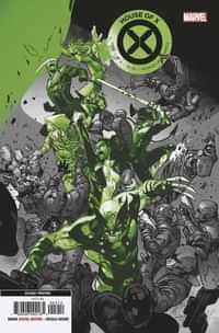 House of X #4 Second Printing Larraz