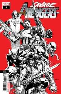 Savage Avengers #5 Second Printing Finch