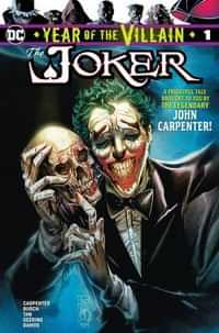Year of the Villain One-Shot Joker