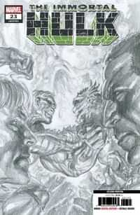 Immortal Hulk #23 Second Printing Ross