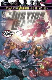 Justice League #34 CVR A
