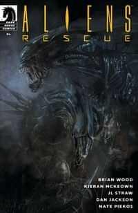 Aliens Rescue #4 CVR A De La Torre