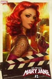 Amazing Mary Jane #1 Variant Artgerm