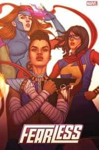 Fearless #4 Variant Frison Connecting