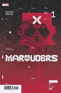 Marauders #1 10 Copy Variant Muller Design